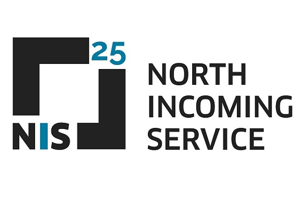Logotipo NIS  - North Incoming Service